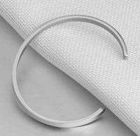 Stainless Engraved Name Cuff Bracelet - Think Engraved