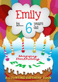 Personalized Counting Birthday Book - Think Engraved
