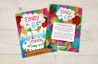 Personalized Counting Birthday Book