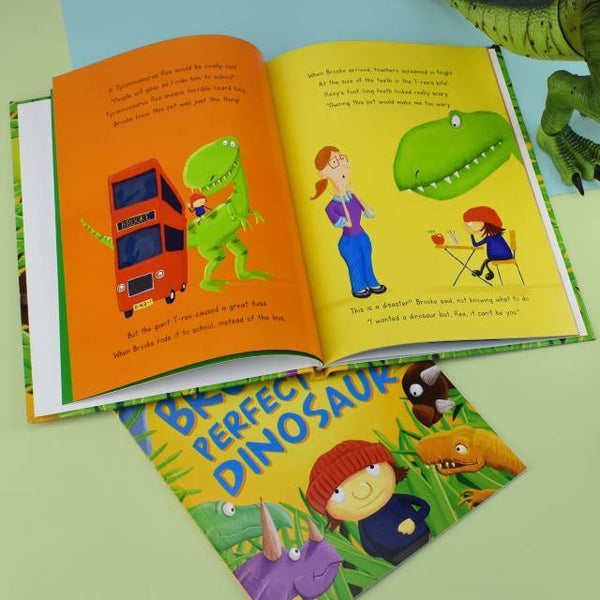 Personalized Pet Dinosaur Story Book - Think Engraved