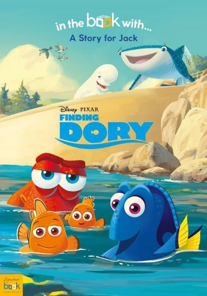 Personalized Disney Finding Dory Story Book - Think Engraved