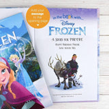 Personalized Disney Frozen Story Book Kids love it