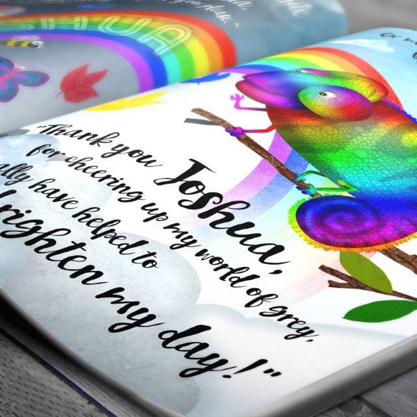 Discover a World of Color Personalized Book - Think Engraved
