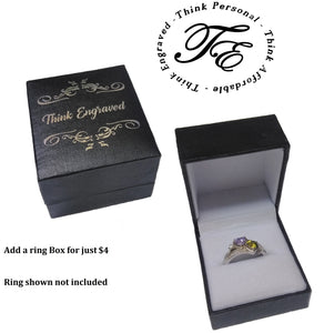 ThinkEngraved Ring Gift Box - Think Engraved