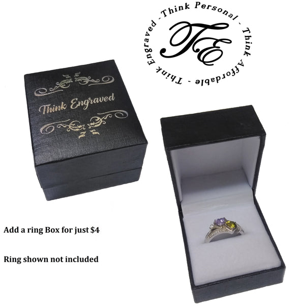 ThinkEngraved Ring Gift Box