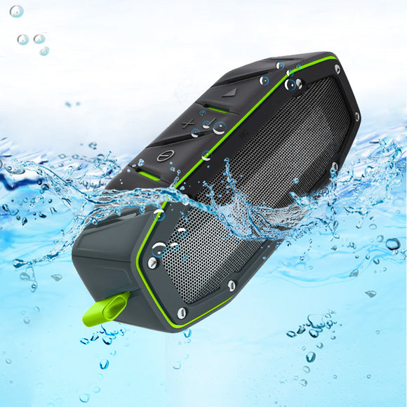 Big Power Waterproof Caixa De Som Portable Bluetooth Speaker 10w Outdoor Shower Speakers Wireless NFC Subwoofer Mini Boombox