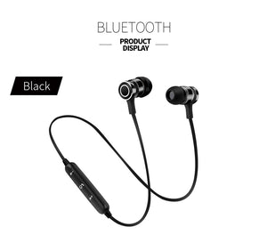 Sport Blutooth Earphone Headphone Wireless Magnet Earpiece Setero Super Bass Headset Earbuds with Mic for iPhone Xiaomi