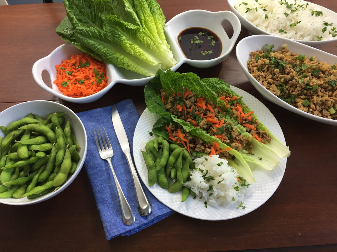Thursday, April 12th:  Asian Lettuce Wraps