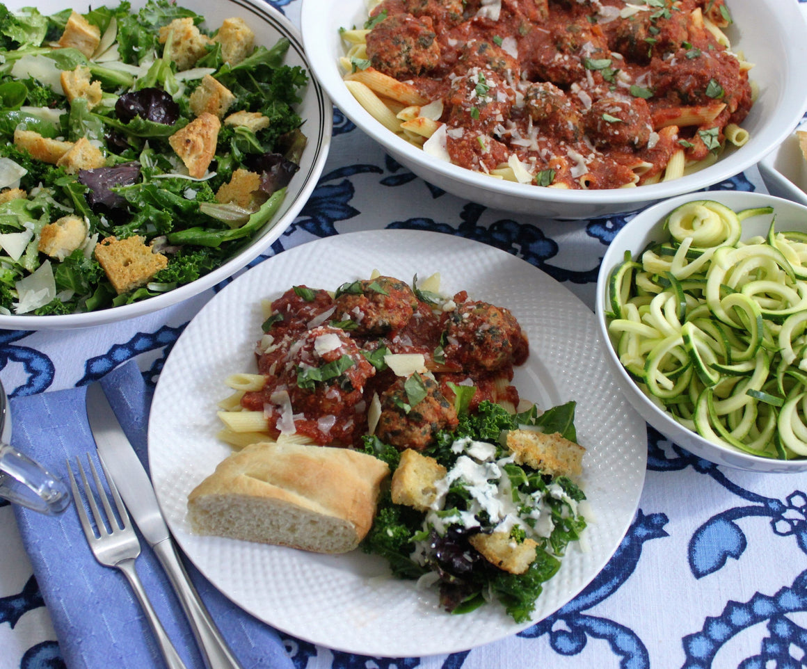 Monday, October 8th:  Meatballs with Marinara