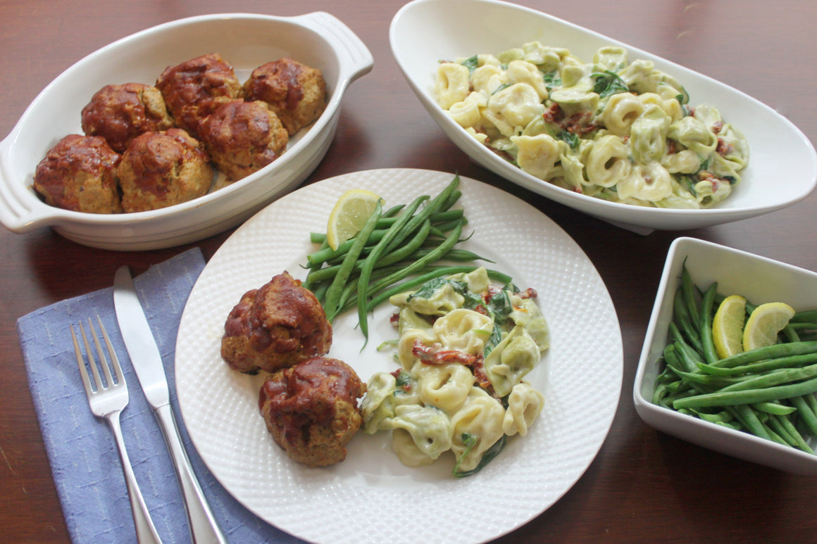 Tuesday, June 19th: BBQ Mini Meatloaves with Roasted Potato Salad