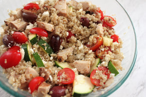 Greek Quinoa Salad with Chicken (LMC)