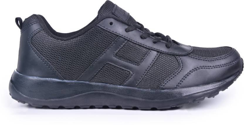 HSN Premium Affordable Running Gym / Regular Wear Shoes For Men (Black) The Immart