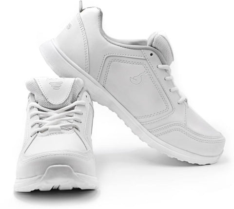HSN Premium Affordable Running Gym / Regular Wear Shoes For Men (White) The Immart