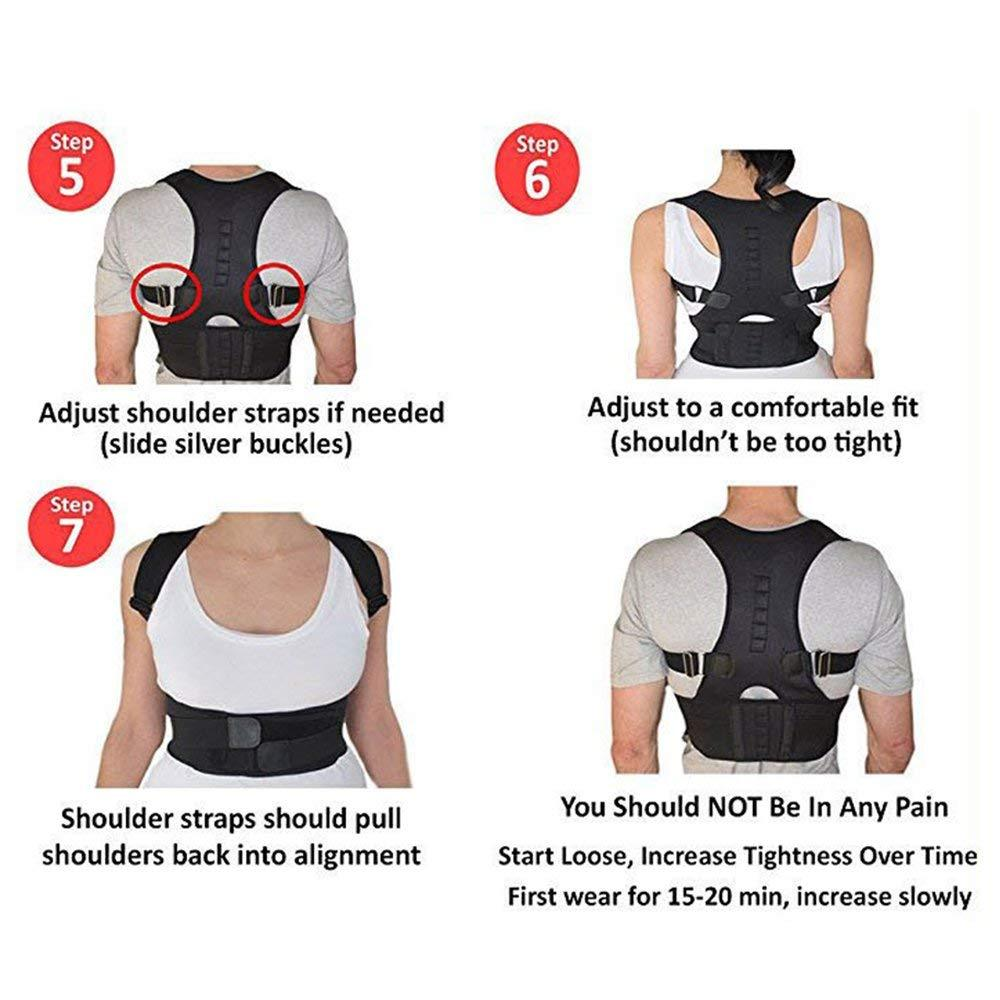 Posture Support Brace Belt For Perfect Posture Straight Back Belt Real Doctor