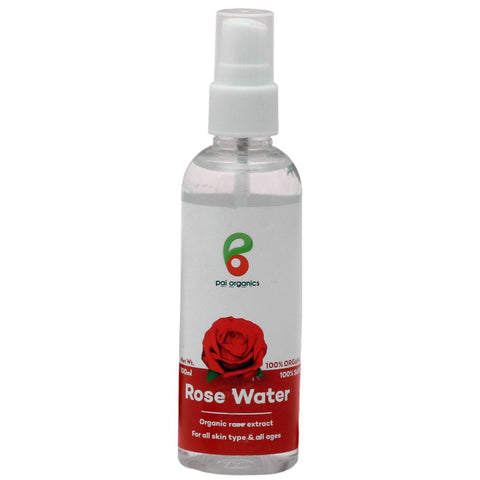 Organic Rose Water | Natural Rose Extracts | Herbal Skin Toner | 100ml The Immart