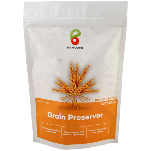 Grain Preserver | Protect Grains,Pulses from Beetle and Weevils | For storage of grains for longer period of time The Immart