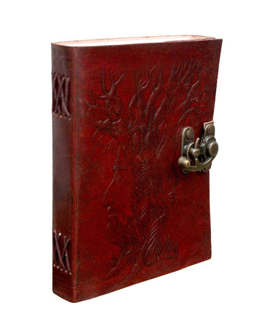 TUZECH Antique Looking Genuine Leather Diary Journal/Diary/Notebook Travel Book With C Lock