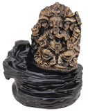 Tuzech Meditating Buddha Ganesha Style Smoke Backflow Cone Incense Holder Decorative Showpiece The Immart