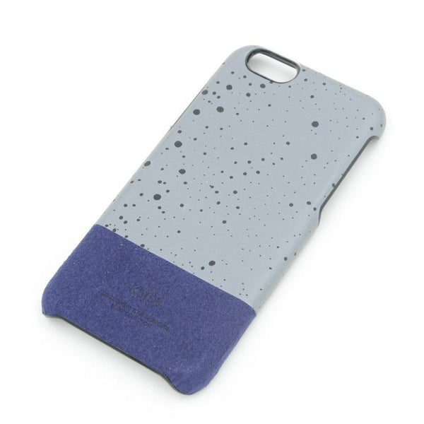 Back Cover - Neon Kajsa Cases For Apple IPhone - Blue/Grey