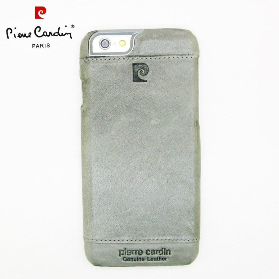 Back Cover - Original Pierre Cardin Case For Apple IPhone (ELEGANT GREY)