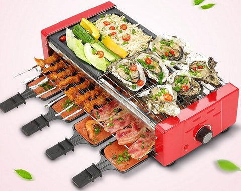 Barbeque Set - Automatic Portable Electric Barbeque