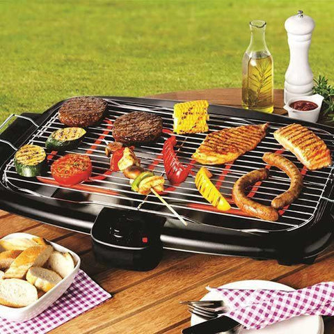Barbeque Set - TUZECH ELECTRIC MULTIPURPOSE FLAT- DESIGNED BARBEQUE GRILL