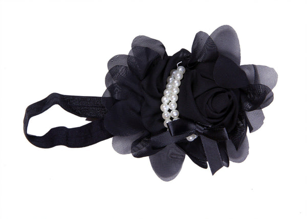 Best Black Comfort Hair Band With Beads For Child