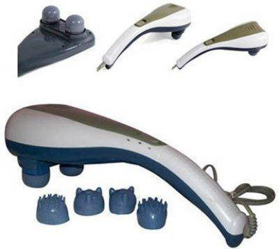 Body Massager - Tuzech 5 In 1  Powerful 2-Speed Complete Body Massager (With Accessories)