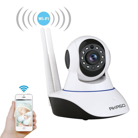 Camera - Tuzech  Auto- Rotating Night Vision Mobile HD CCTV Wifi Camera