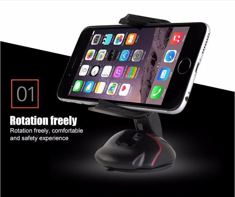 Car Holder - 360 Foldable High Quality Mobile Phone Holder ( For All Mobiles) ( Can Be Used On Windshield)