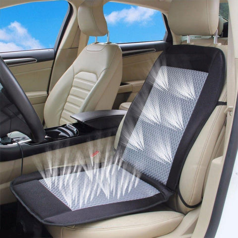 Car Seat - Cooling Car Cushion Car Back Seat Cooler For All Cars - No More Sweat In Back