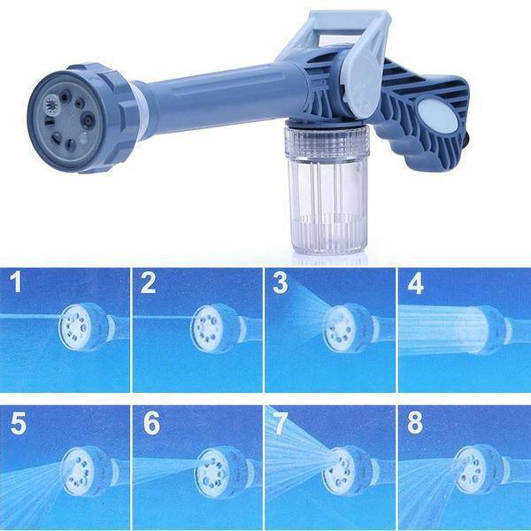 Cleaning - Combo 10 Metre Hose Pipe And 7 In 1 EZ Car/Bike/Home Washing System