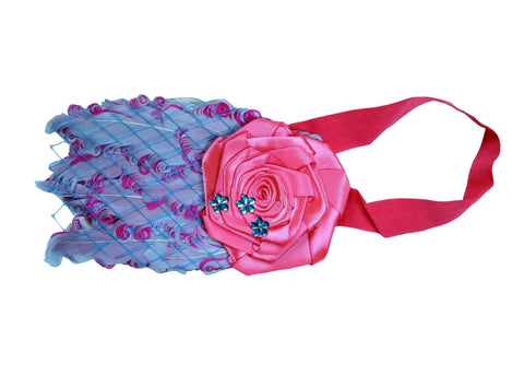 Colourful Rosistic Elastic Head Band