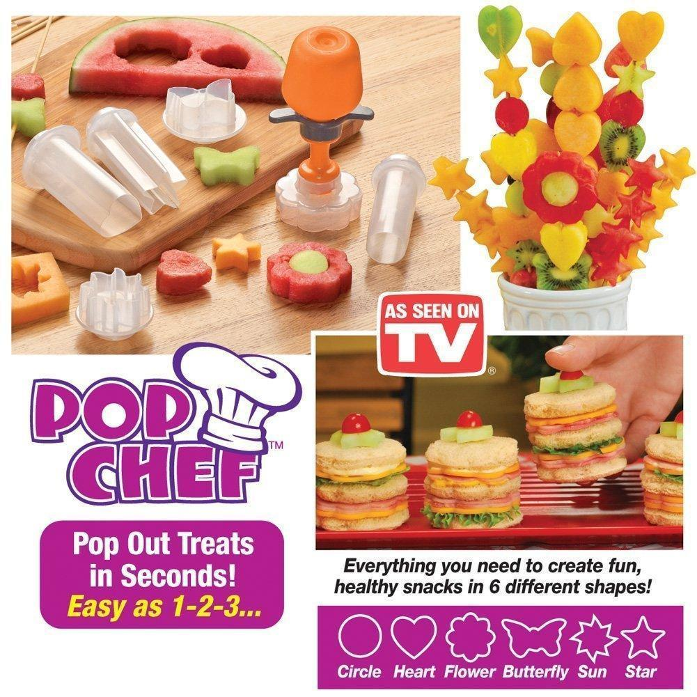 Design Food - Food Designer Just Design Push And Eat - 10 Piece Kit