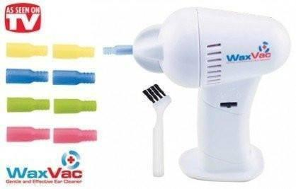 Ear Cleaner - Electronic Ear Wax Vac  Vacuum Removal Kit  - Certified