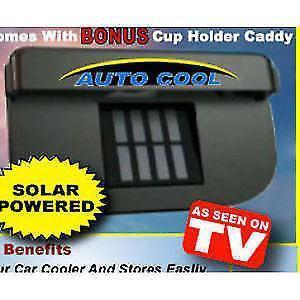 Fan - Solar Automatic Car Cooler For Summers - Auto Cool ( Works In Closed Window Also)