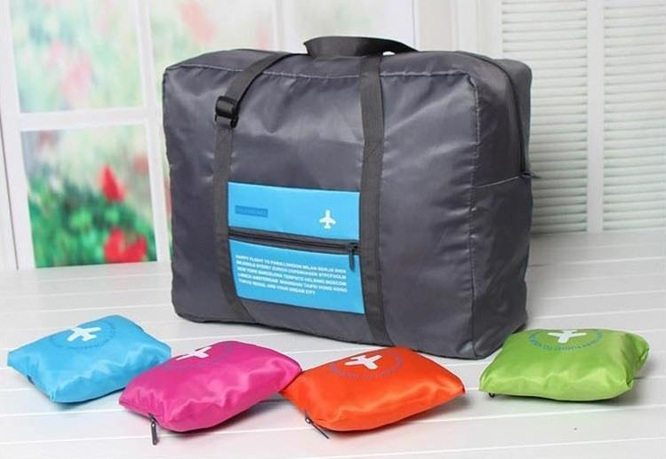 Folding Bag - Foldable In Flight Regular Shopping Smart Bag - Mini To Big - Best In Quality - 32 L