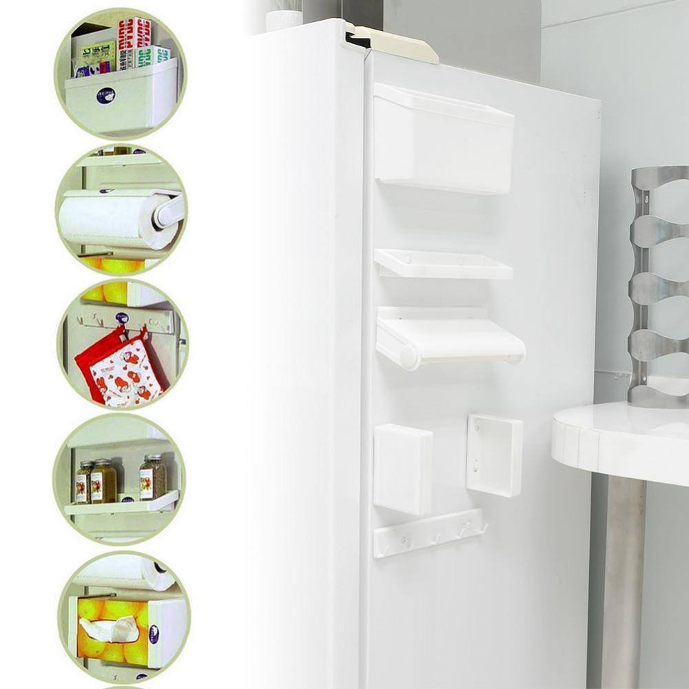 Fridge - 5 In 1 Magnetic Set Of Fridge Magnet Holder