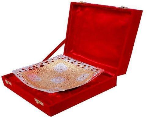 Gold Plated - ININDIA Gold Plated Dry Fruit / Fruit Bowl