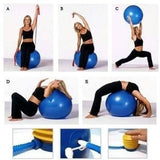 Gym - Tuzech Multipurpose Gym Ball - Ultralarge - 75 CMS