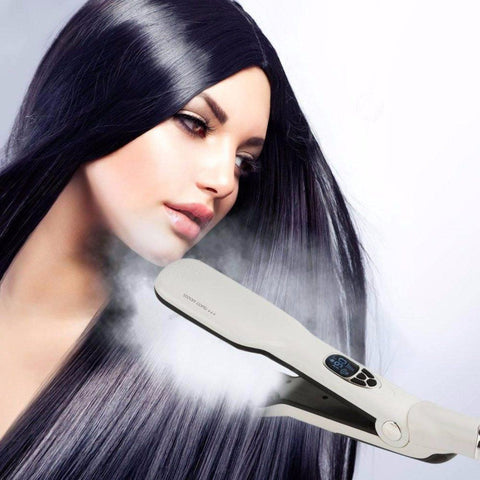 Hair - Exclusive Infrared Unisex Steam Hair Brush Straightener