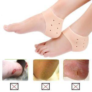 Heel Protector - Silicone Anti Crack Pain Reliever Heel Protector Nourishment Solution Reusable Mask