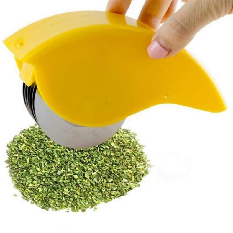 Herb Rolling Mincer And Cutter For Instant Salad