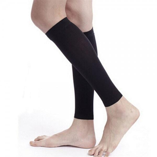 HOT SHAPER - Copper Fit Calf Compression Sleeve - Regular Use/Gym/Office/Sports - For 2 Legs