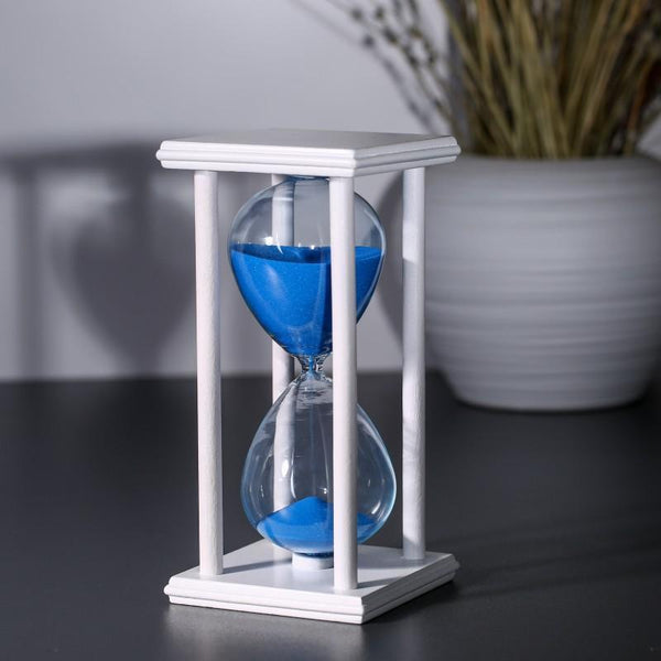 Hour Glass - Stress Reliever Perfect Gift Shop Birthday Gift Hour Glass With Stand - 30 Minutes