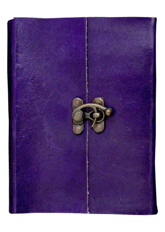 ININDIA Handmade DiaryNotebook For Office / Home / Craft / Art Use With C Lock (All Colors)