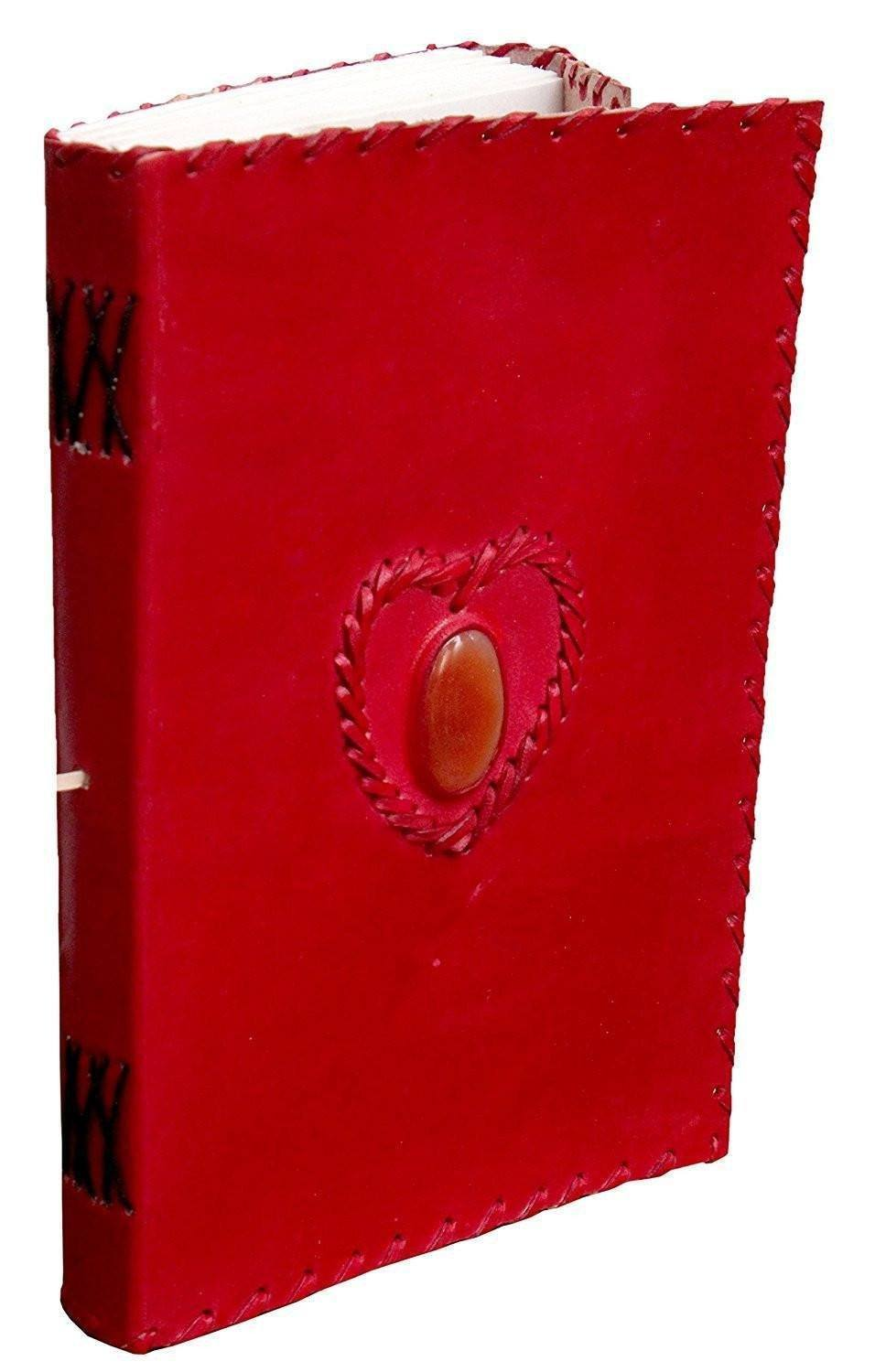 ININDIA Pure Genuine Real Vintage Hunter Leather Handmadepaper Notebook