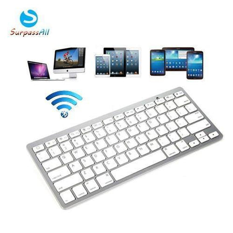 Keyboards - Tuzech Ultrathin Mini Bluetooth Keyboard  (For IPad , MAC , PC , Android )