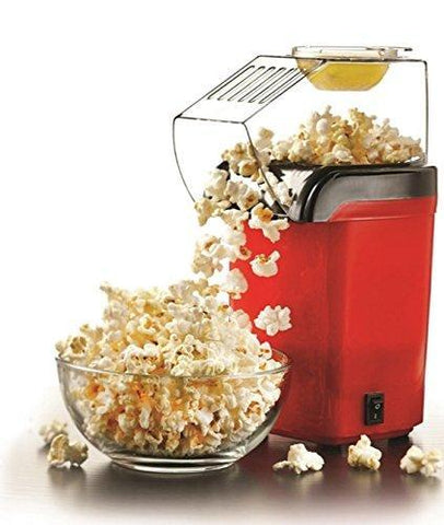 Kitchen Aid - Tuzech Oil Free Easy & Quick Tasty Snack Maker At Home Healthy And Nutritious Kids Friendly Popcorn Maker Chips Peanuts Fryums Cashews Almonds Papad