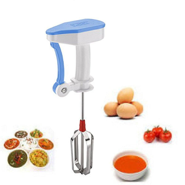 Kitchen Aid - Tuzech Power Free Hand Blender 5x Speed Blending, Churning, Beating, Liquidizing